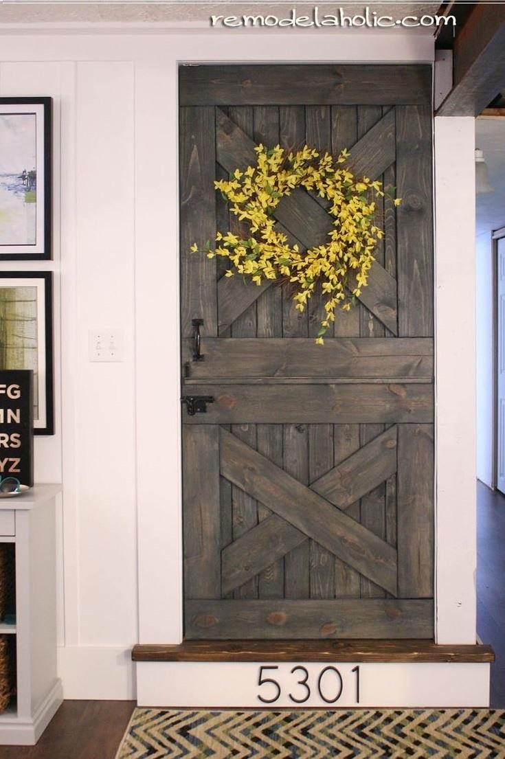 Color Washed Dutch Brown Door