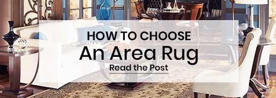Learn how to choose an area rug