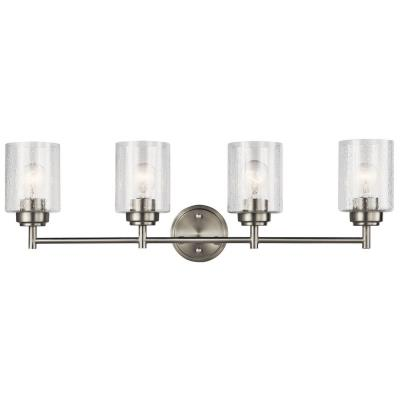 kichler lighting 45887 winslow four light bath vanity 13301