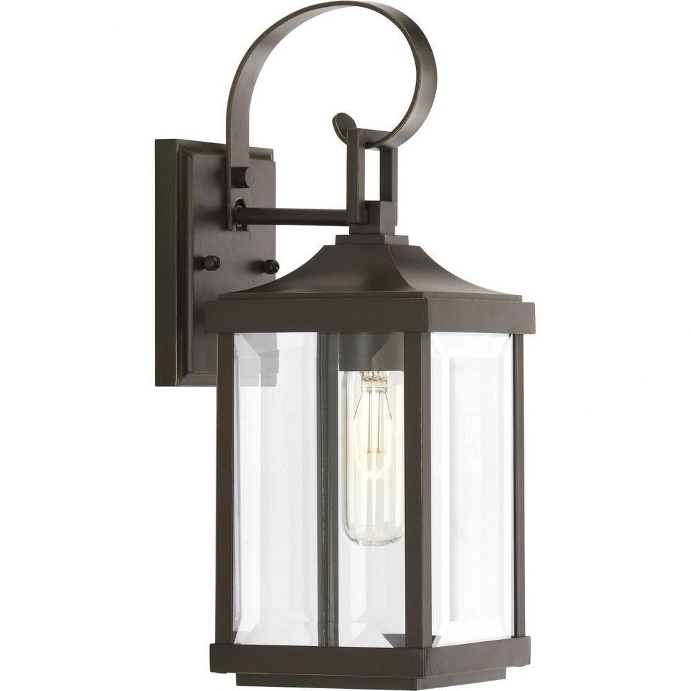 "Progress Gibbes Street 2 Light 7/"" Outdoor Med Wall Lantern P560022-020 Bronze"